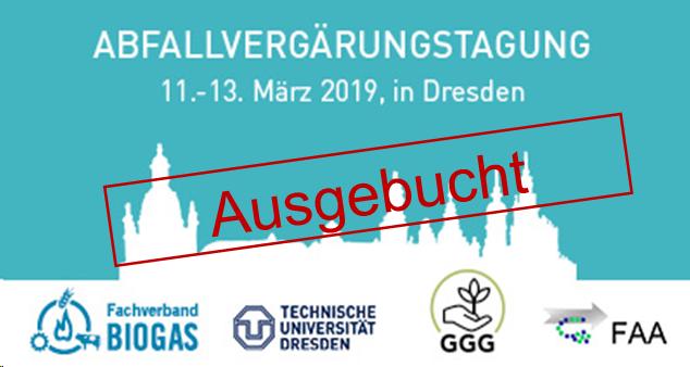 Abfallvergärungstagung in Dresden – ausgebucht